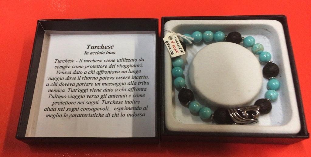 Braccialetto Turchese BTur06