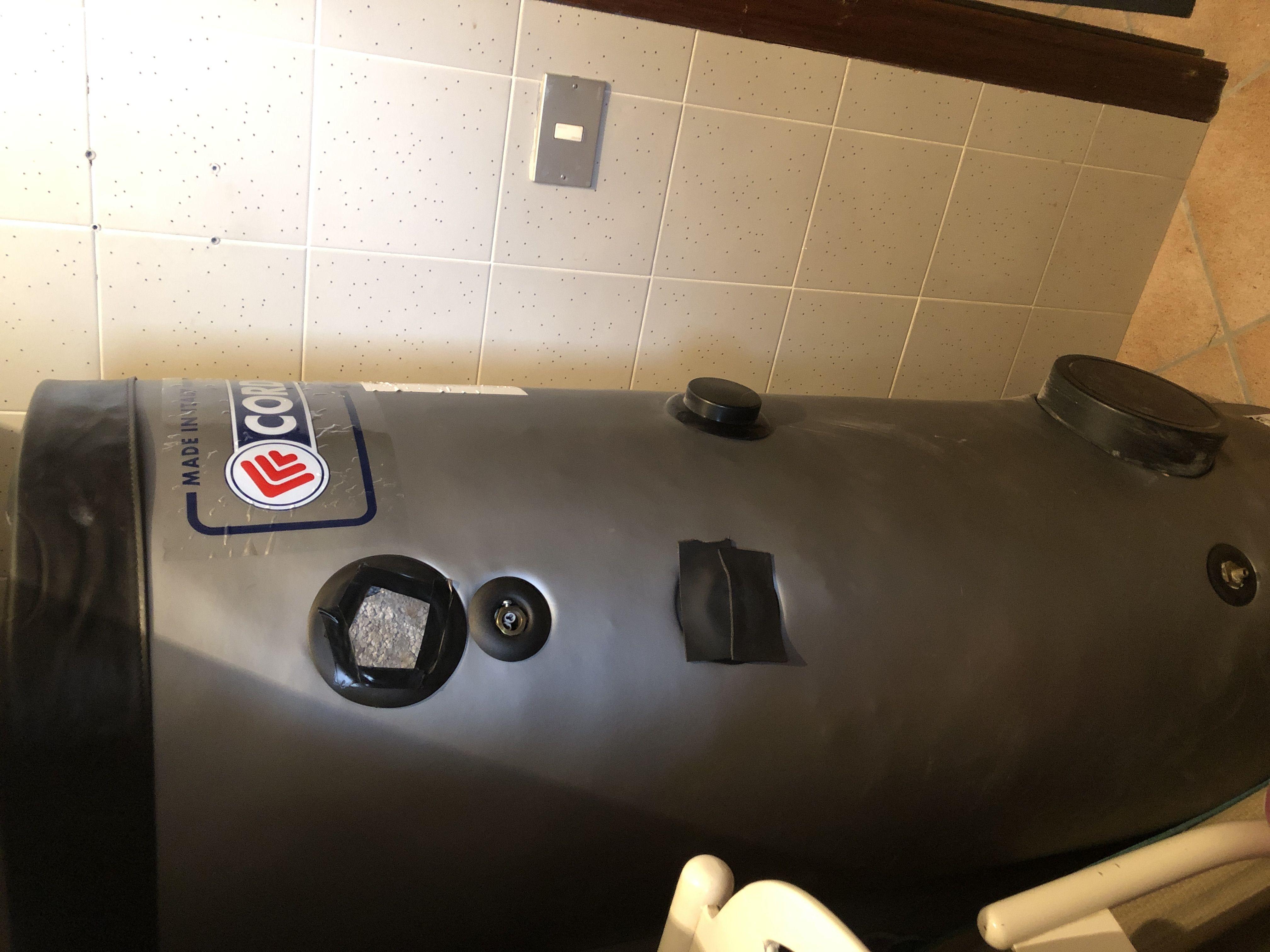 Vendo boiler a 2 serpentine 200 l cordivari