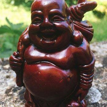 Statua Buddha Prosperità 6876