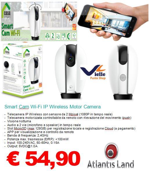 Smart Cam Wi-Fi IP Wireless Motor Camera
