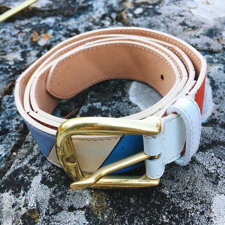 Cintura Pelle Colorata C107