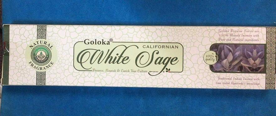 Incenso Bastoncini White Sage Gol23