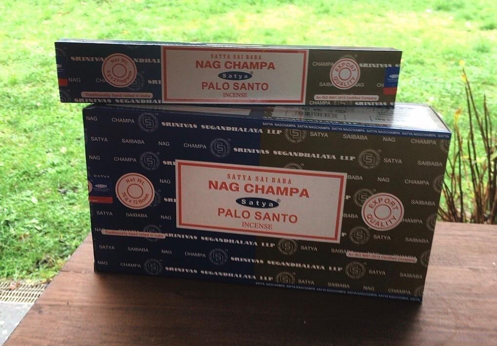 Incenso Nag Champa Palo Santo Sat98