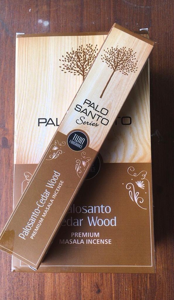 Incenso Palo Santo Cedro SDu02
