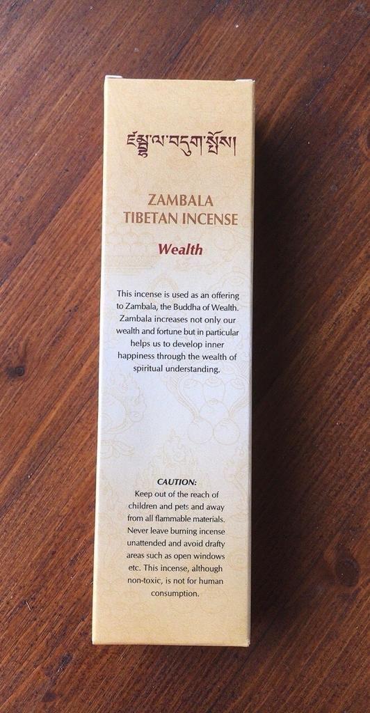 Incenso Zambala Wealth Nepal Gan02