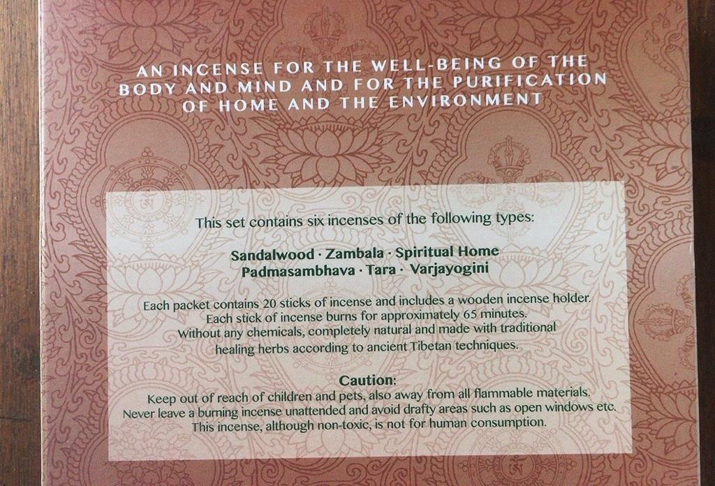 Incenso Meditation Vairajogini Nepal Gan04