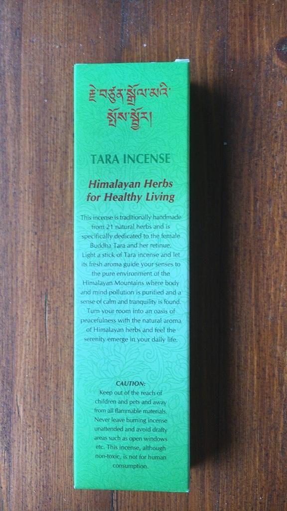Incenso tara Himalayan Herbs Gan05