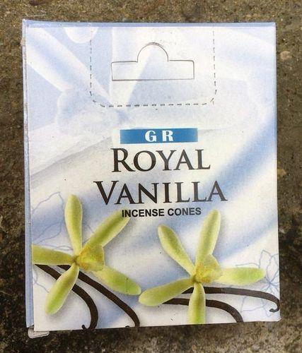 Incenso Coni Vaniglia GR42