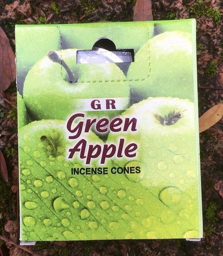Incenso Coni Mela Verde GR44