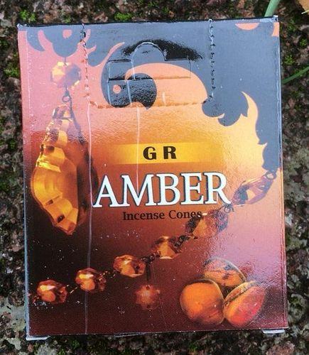 Incenso Coni Amber GR49