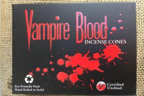 Incenso Coni Vampire Blood Nan53