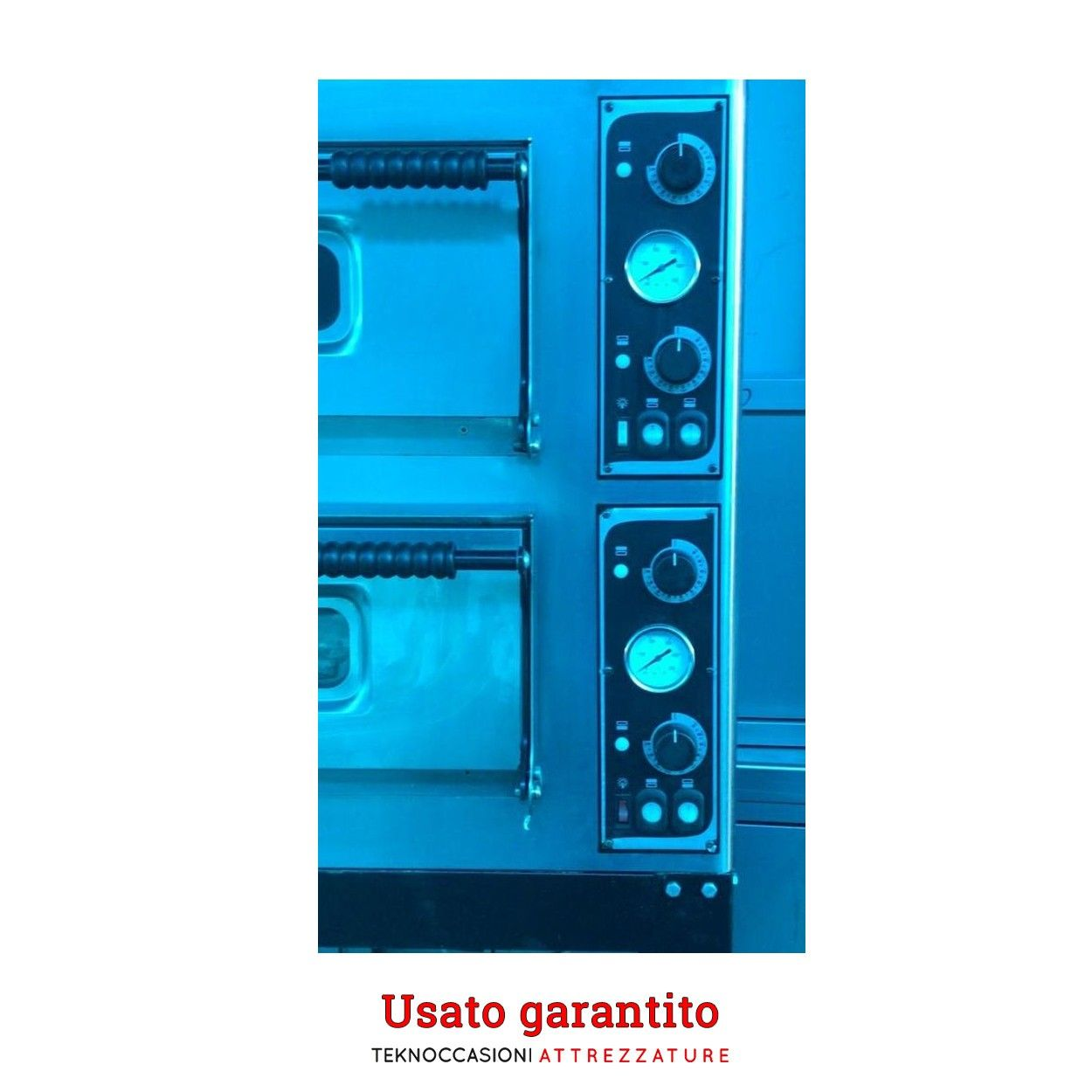 Forno pizza 2 camere elettrico usato garantito