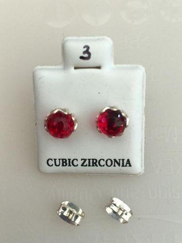 Orecchini Luce Rossa CZ003