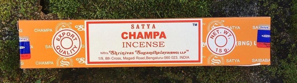Incenso Satya Champa Sat105