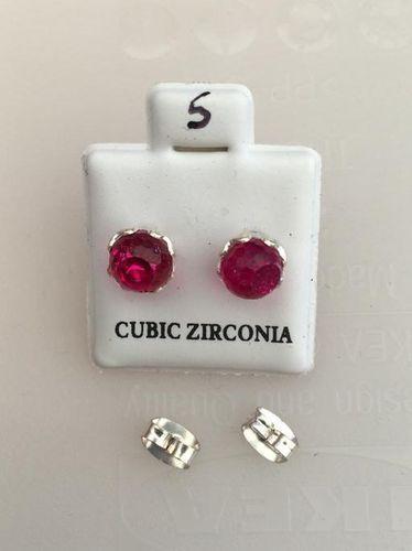 Orecchini nLuce Rosa Cangiante CZ005