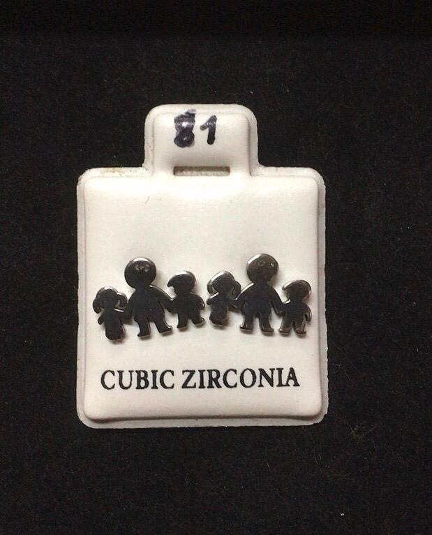 Orecchini Famiglia CZ081