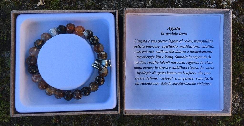 Braccialetto Agata BAga02
