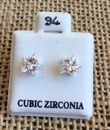 Orecchini Cristalli Stella CZ094