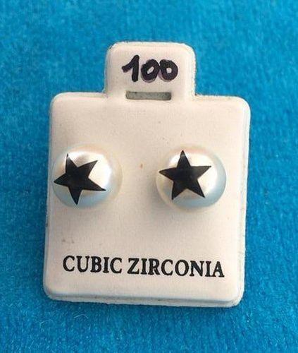Orecchini Perle Stella CZ100