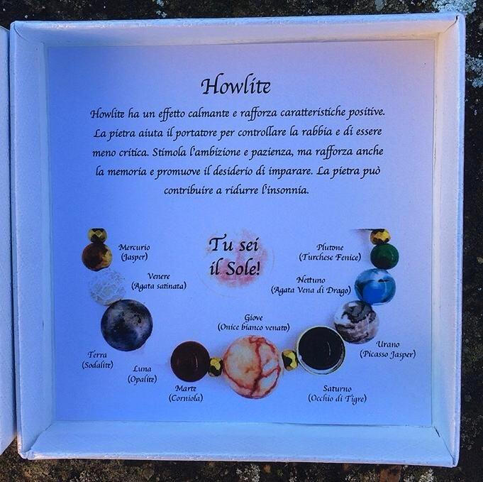 Braccialetto Howlite BHow15