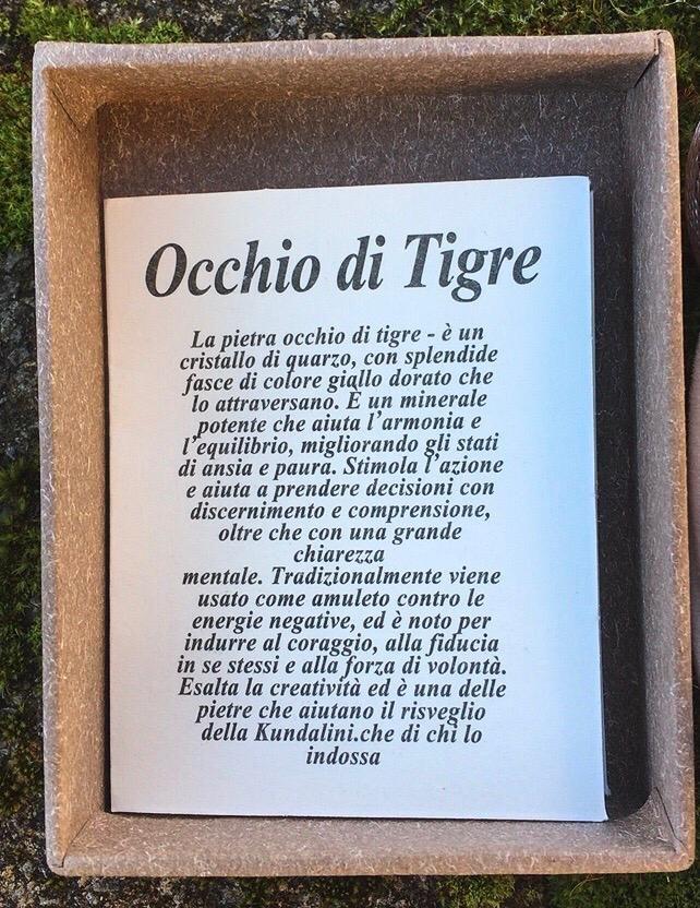 Braccialetto Occhio di Tigre BOTi01