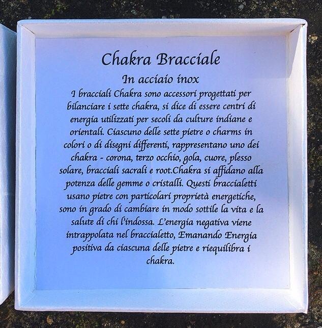 Braccialetto Chakra BCha05