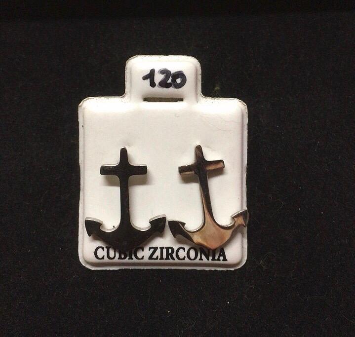 Orecchini Ancore CZ120