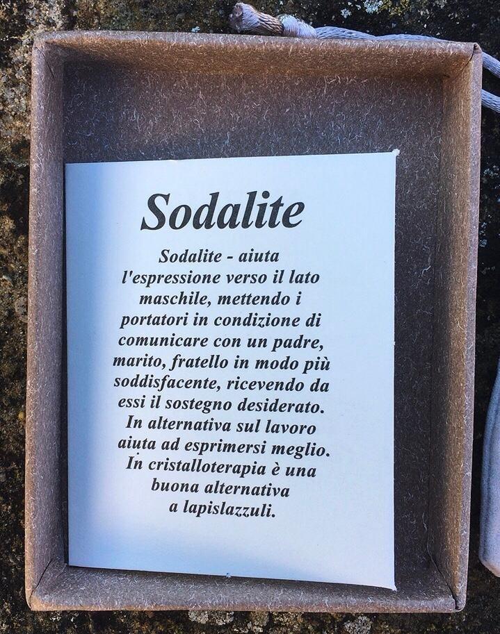 Braccialetto Sodalite Sod01