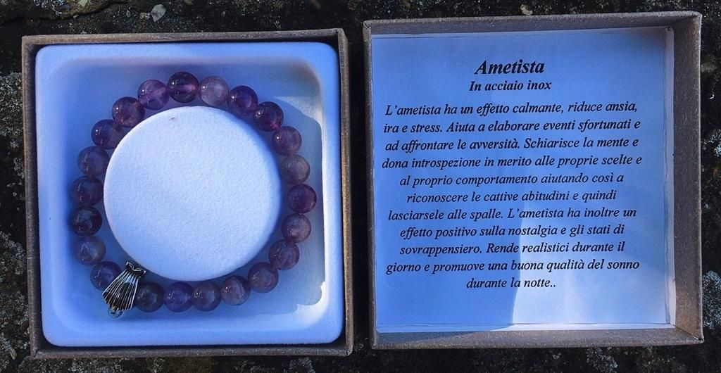 Braccialetto Ametista BAme03