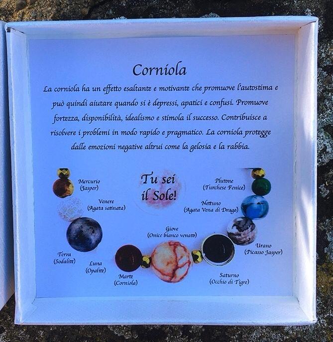 Braccialetto Corniola BCor20