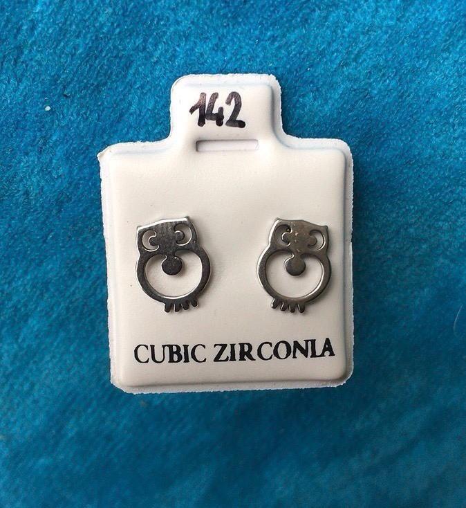 Orecchini Gufetti CZ142