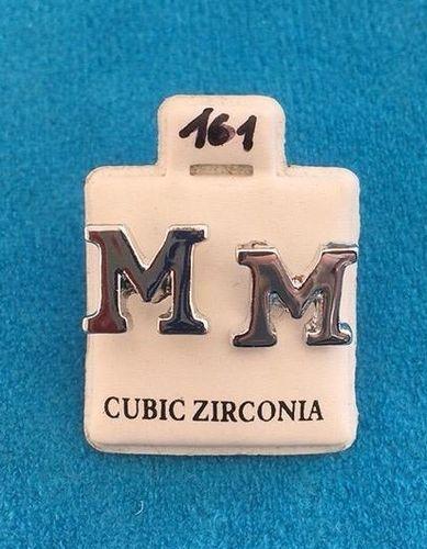 Orecchini Lettere M CZ161