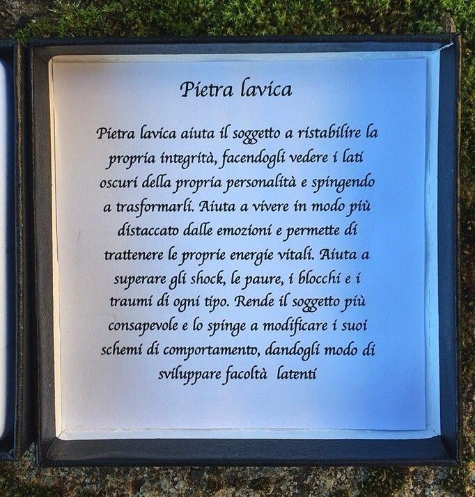 Braccialetto Pietra Lavica BPLa80