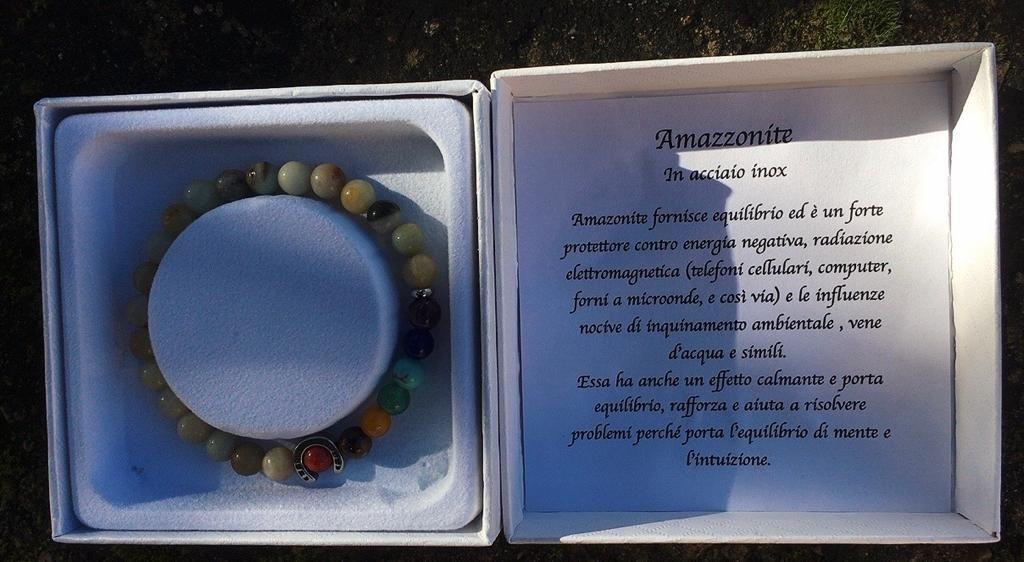 Braccialetto Amazzonite BAma09