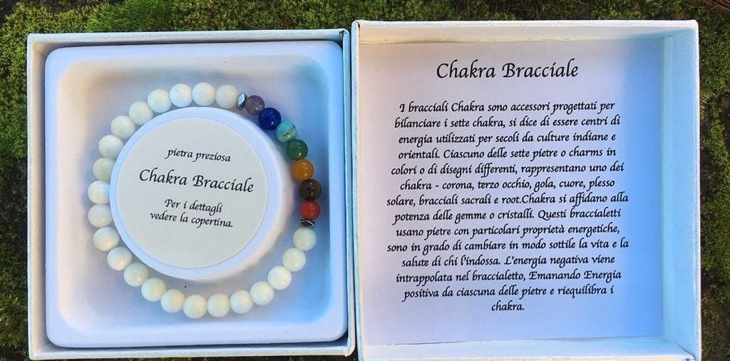 Braccialetto Chakra BCha04