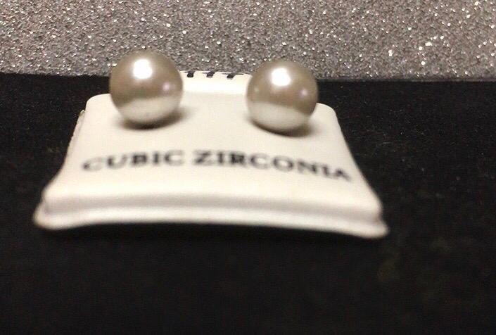 Orecchini Perle Bianche CZ177