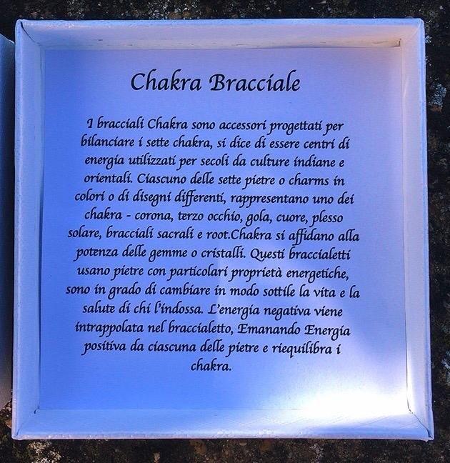 Braccialetto Chakra BCha01