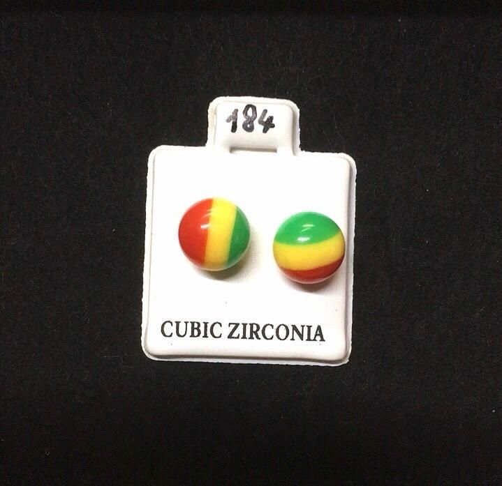 Orecchini Palline Jamaica CZ184