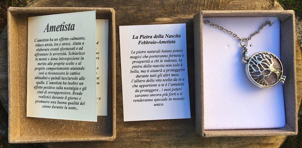 Collana Albero Vita Ametista CAme01