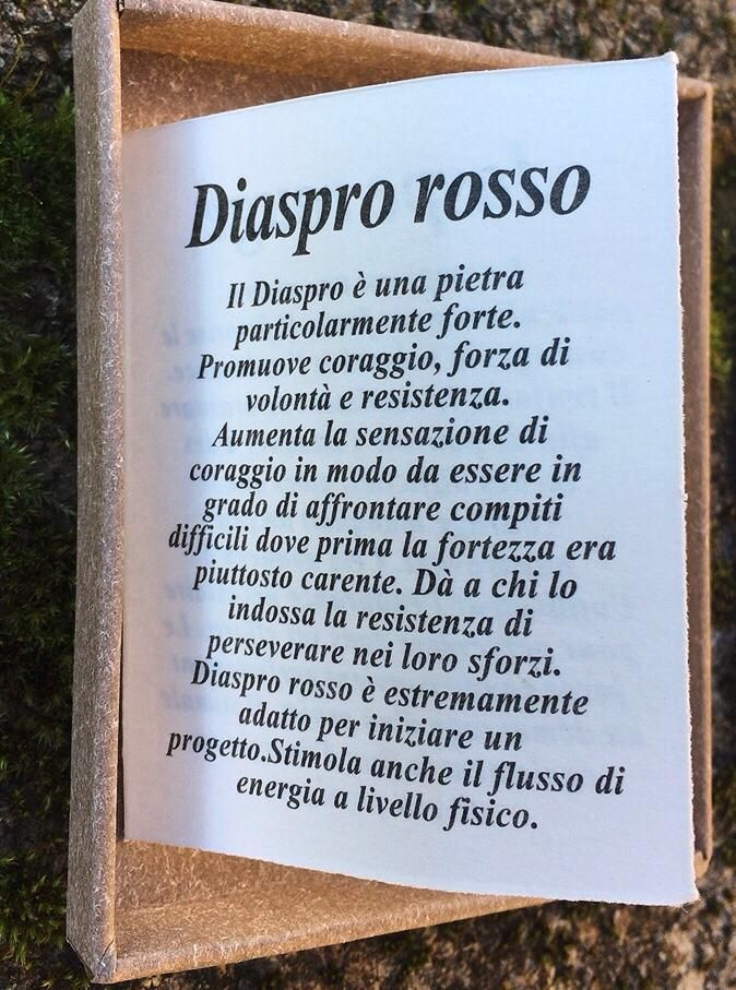 Collana Albero Vita Diaspro Rosso CDRo01