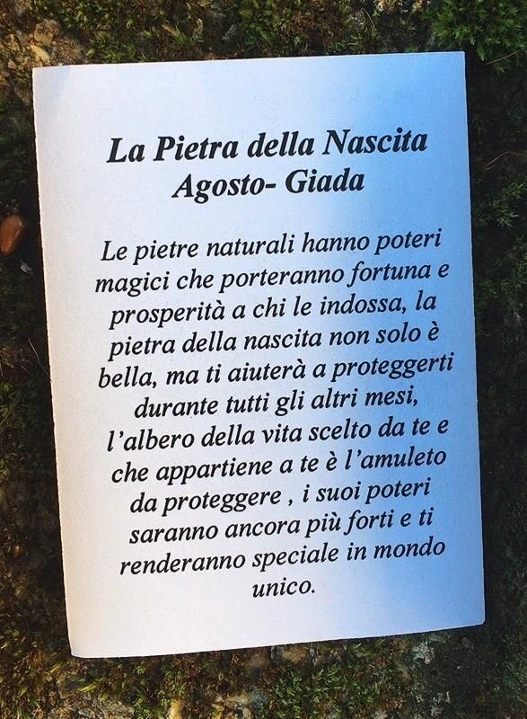 Collana Albero Vita Giada CGia11