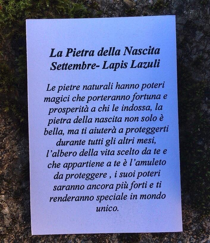 Collana Albero Vita Lapislazzuli CLap08