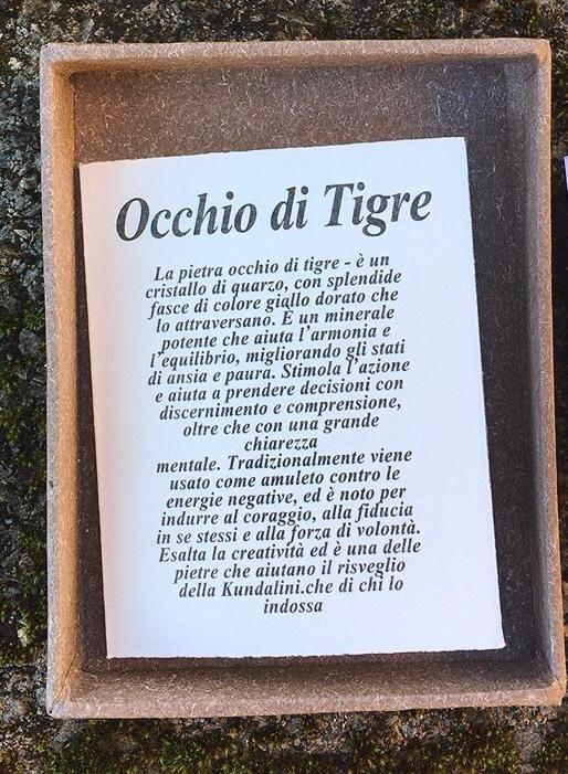 Collana Albero Vita Occhio Tigre COTi01