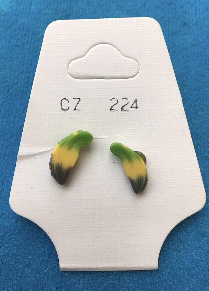 Orecchini Banane CZ224