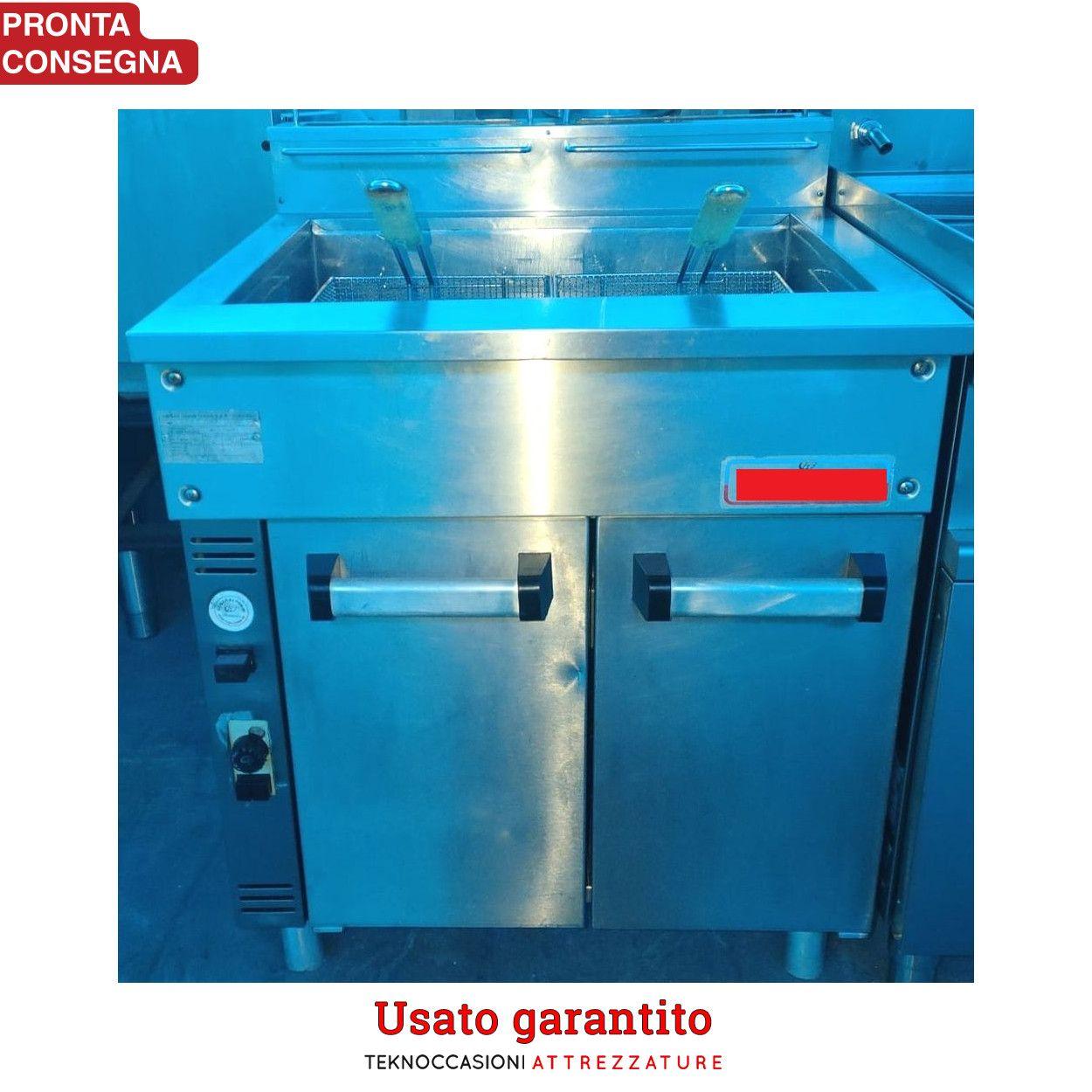 Friggitrice a gas per pasticceria usata garantita