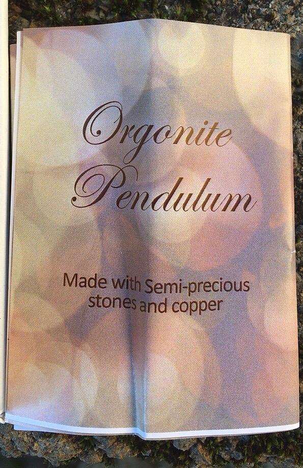 Pendolo Orgone Peridoto 78124