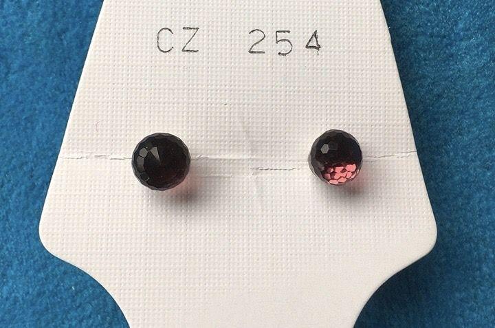 Orecchini Palline Fluorescenti CZ254