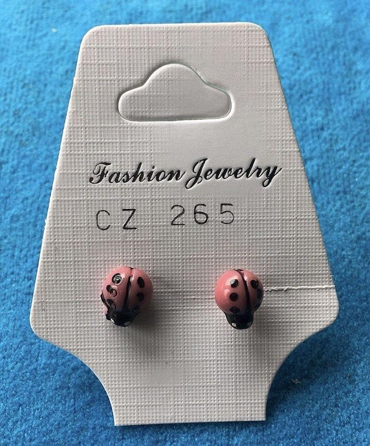 Orecchini Coccinelle Rosa CZ265