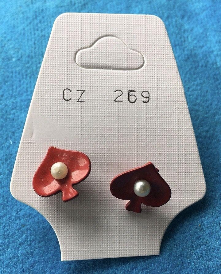 Orecchini Alberi Perle CZ269
