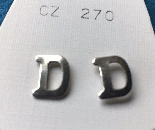 Orecchini Lettere D CZ270